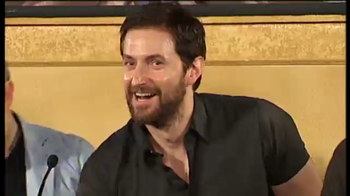 Richard Armitage, first Hobbit press conference in Wellington, February 11, 2011.