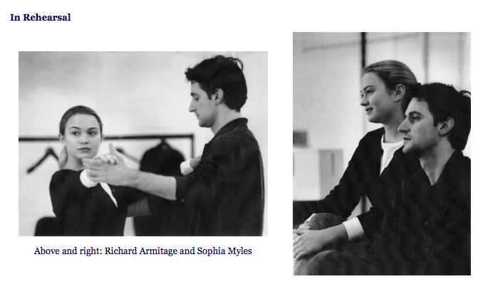Is richard armitage dating sophia myles. big time rush 2014 james maslow dating.