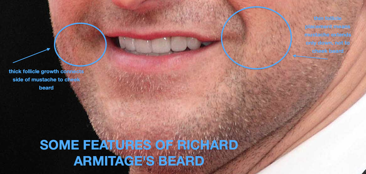armitage beard aesthetics me richard armitage