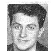 Richard Armitage, head shot from 42nd Street program, 1992.