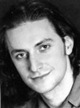Richard Armitage, headshot from Cats program (1995).