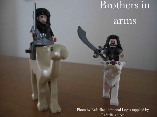 Thorin & Saracen Gizzy