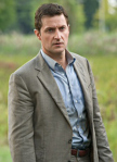 Richard Armitage as teacher. First publicity photo for Into the Storm (then Category 6), September 2012.