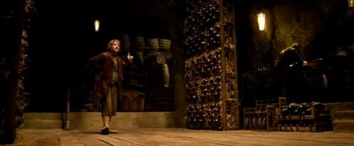 Bilbo Baggins barrels