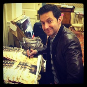 Richard Armitage, during the first Hobbit press blitz, December 2012.