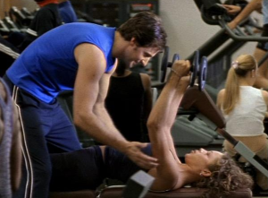 Richard Armitage as fitness instructor and cad Lee Preston in Cold Feet. Source: RichardArmitageNet.com