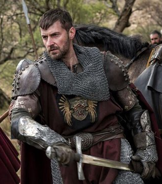 Richard Armitage as Raymond de Merville in first glimpse shot from Pilgrimage.