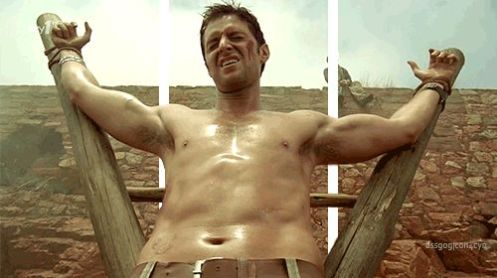 John Porter (Richard Armitage) being tortured to reveal information in Strike Back 1.6.