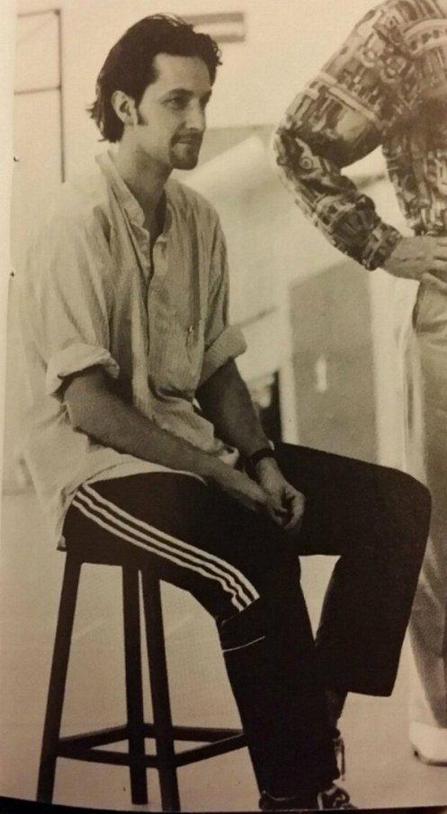Richard Armitage in rehearsal, 1998. Courtesy of Armitage Global.