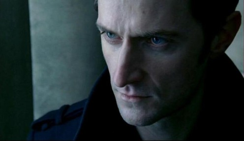 Lucas North (Richard Armitage) in his standard spy issue peacoat, in Spook 7.3. Source: RichardArmitageNet.com