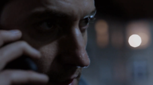 Daniel Miller (Richard Armitage) talks with his boss in Washington (I assume) in the first teaser trailer for Berlin Station. My cap.