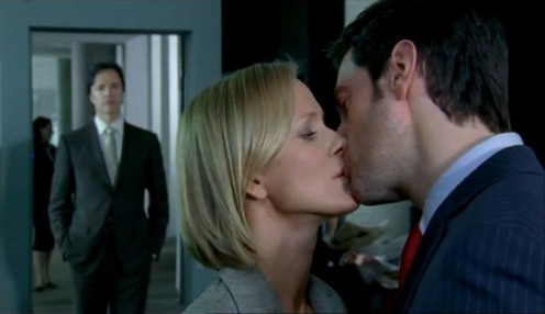 Masquerading as Pete, Lucas North (Richard Armitage) meets up with Ros to tell her she has to work harder on discovering Meynell's secrets, in Spooks 7.5. Source: RichardArmitageNet.com