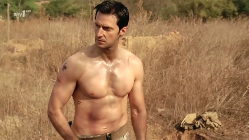 Richard Armitage digs a grave in Strike Back 1.4. Source: RichardArmitageNet.com