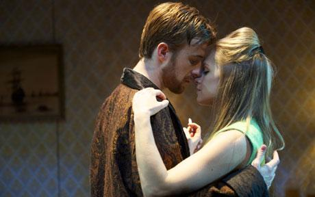 Baby boomers: Daniela Denby-Ashe and John Heffernan in Love Love Love
