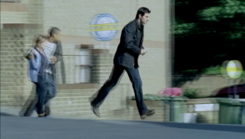 Lucas North (Richard Armitage) takes Dean and his mom to a safe house in Spooks 7.6.