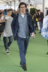 Benedict Cumberbatch at the Hay Festival (2016).