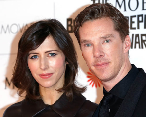 Sophie Hunter and Benedict Cumberbatch at the British Independent Film Awards (2016).