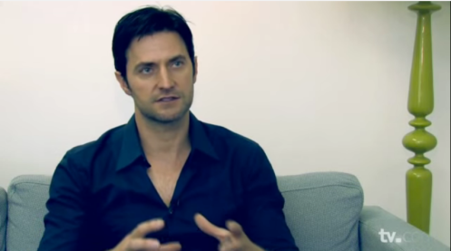 Richard Armitage, interviewed in advance publicity for Spooks 9 (2010). Screencap.