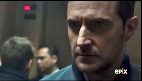 First glimpse of Daniel Miller (Richard Armitage) in Berlin Station 1.1.