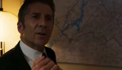 Robert Kirsch (Leland Orser) complains that the U.S.'s opponents were better in the Cold War.