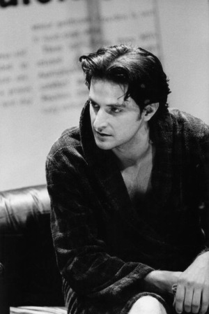 Richard Armitage as Felix in The Normal Heart while at LAMDA. Date unknown but after 1995 and before the end of 1998. Multiple sources, including tweet by LAMDA.