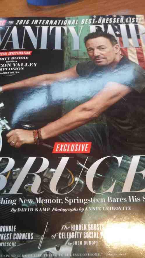Vanity Fair October 2016 cover