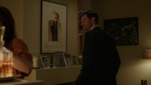Daniel (Richard Armitage) in Esther Krug's apartment, in Berlin Station 1.5. Screencap.