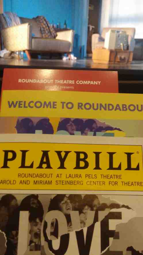 Friday evening playbill photo.