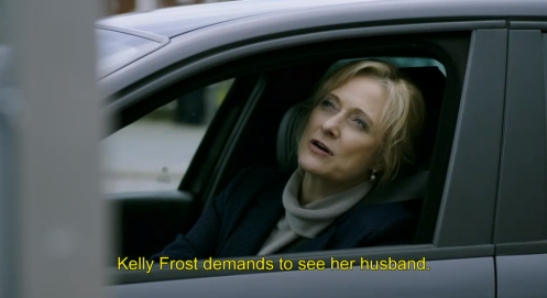 Caroline Goodall's German accent is pretty good except she says her own name with a German accent.