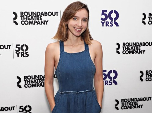 Zoe Kazan, Love Love Love photocall, August 22, 2016.