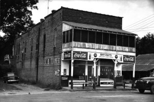 Bryant's Grocery, Money, Mississippi, at the time of the Till trial in 1955.