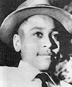 Emmett Till, the Christmas before he was murdered (1954).