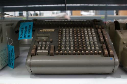 Friden calculator