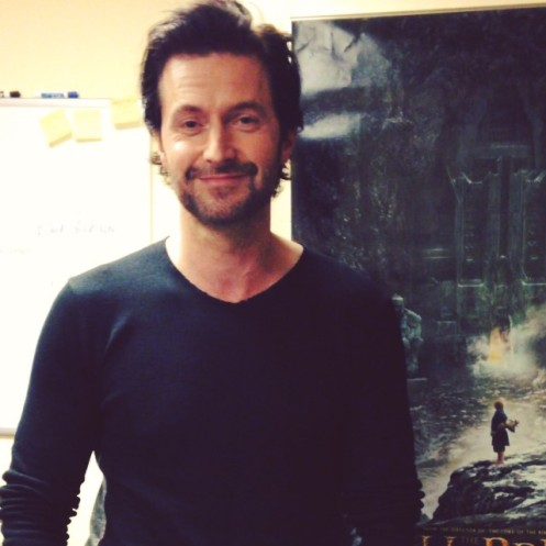 This is just a giddy picture of Richard Armitage | Me ...