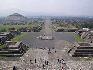 Not a library: Teotihuacan excavations (near Ciudad de México).